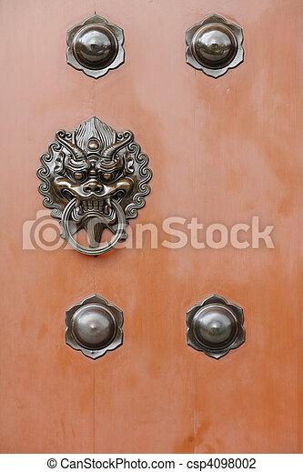 chinese door - csp4098002