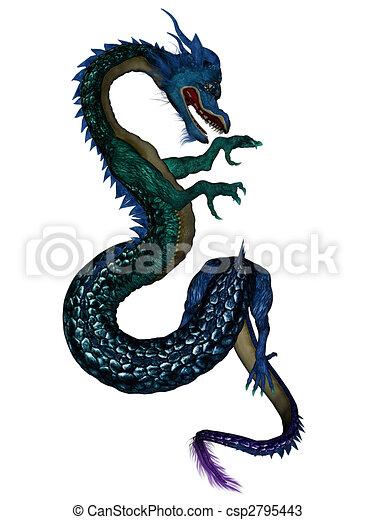 Chinese dragon - csp2795443