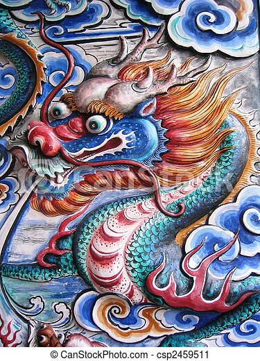 Chinese Dragon  - csp2459511