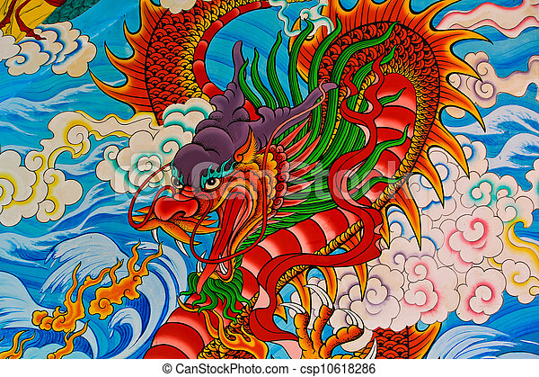 Chinese dragon - csp10618286