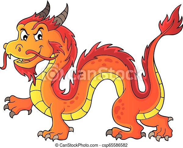 Chinese dragon theme image 5 - csp65586582