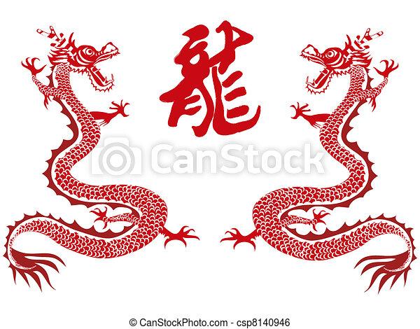 chinese dragon year csp8140946