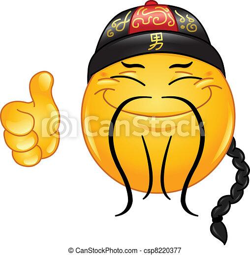 Chinese emoticon - csp8220377