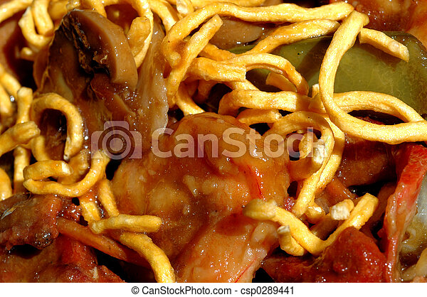 chinese food noodles - csp0289441