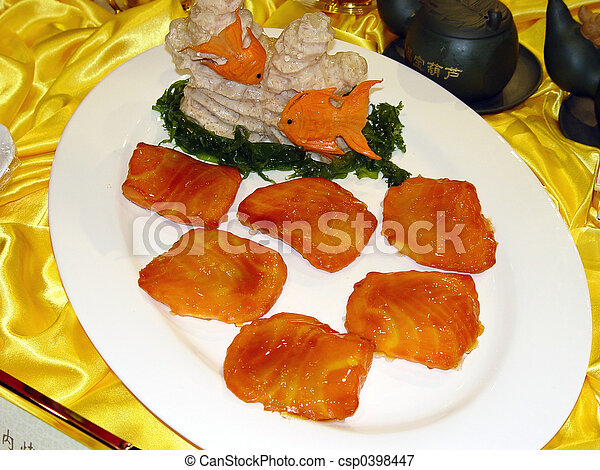 Chinese Food  - csp0398447