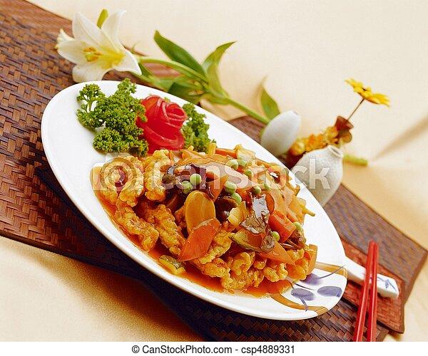Chinese Food - csp4889331