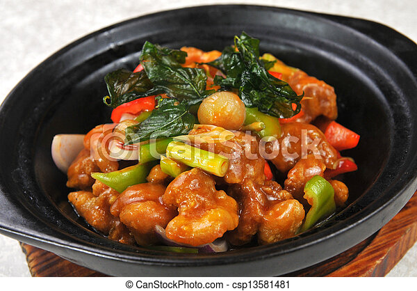 Chinese food - csp13581481