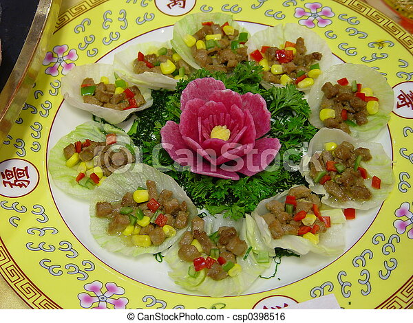 Chinese Food  - csp0398516