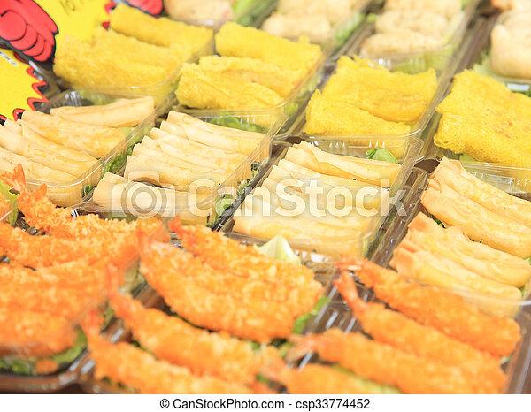 chinese food - csp33774452