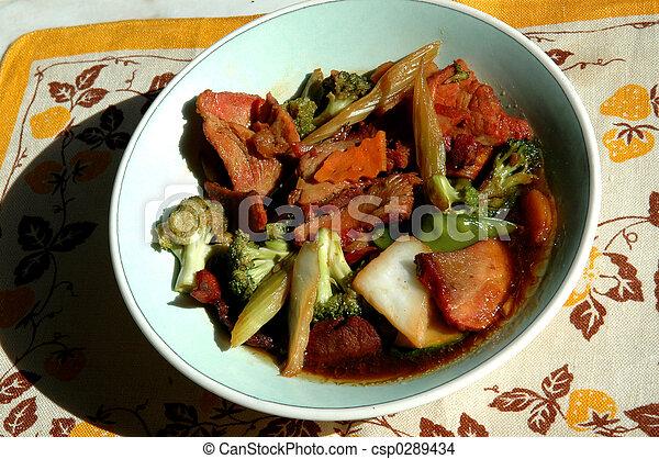 chinese food - csp0289434