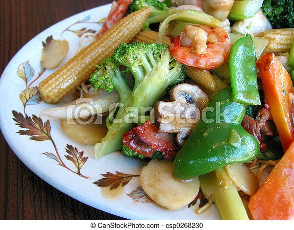 Chinese food - csp0268230