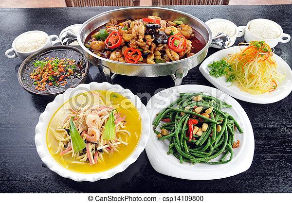 Chinese food - csp14109800