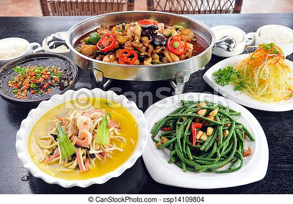 Chinese food - csp14109804