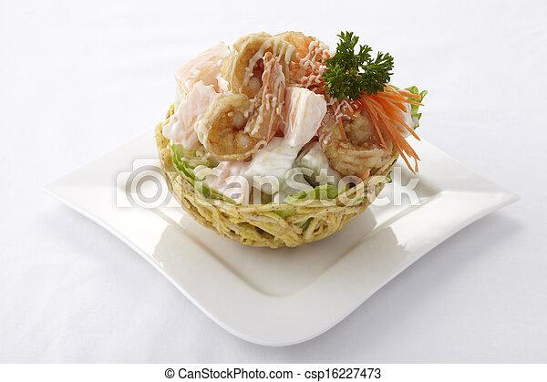 Chinese fruit salad - csp16227473