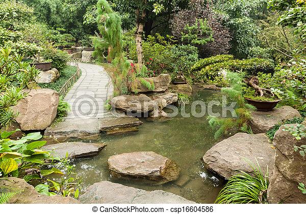 Chinese garden - csp16604586
