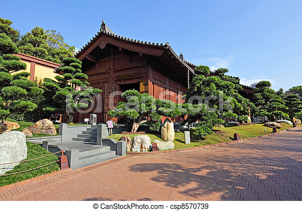 chinese garden - csp8570739