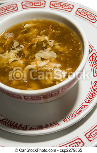 chinese hot and sour soup - csp2279865
