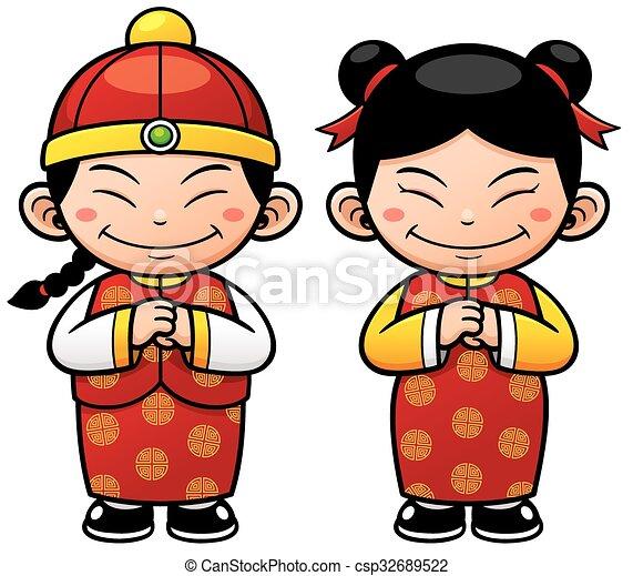 Chinese kids - csp32689522