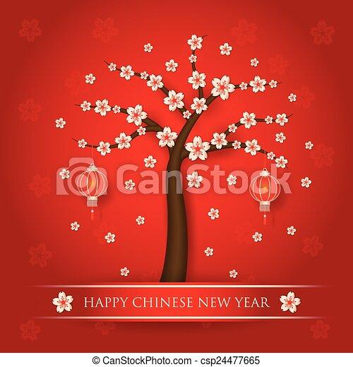 chinese new year background csp24477665