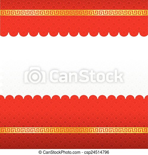 chinese new year blank template abstract background csp24514796