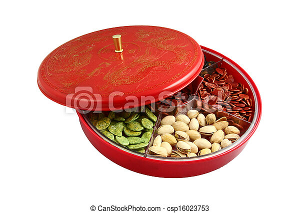 chinese new year chinese candy box csp16023753 - Chinese New Year Candy
