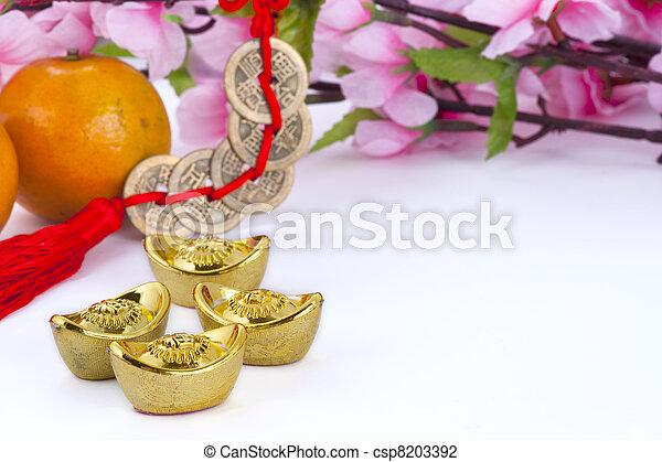 Chinese new year decoration - csp8203392