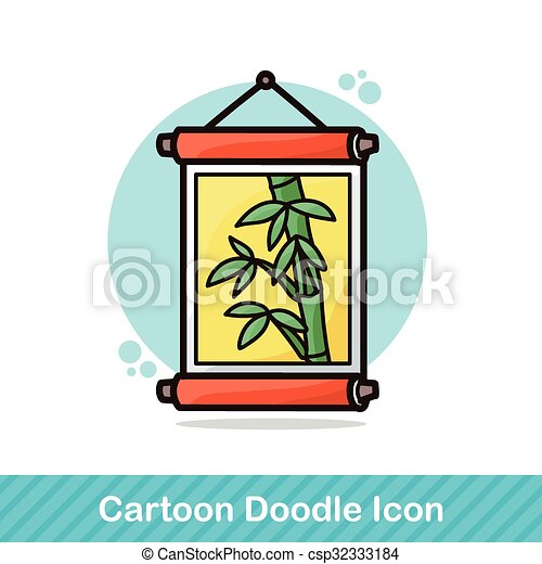 chinese new year decorative bamboo doodle vector search clip art rh canstockphoto ca chinese new year clip art free download chinese new year 2017 clipart free