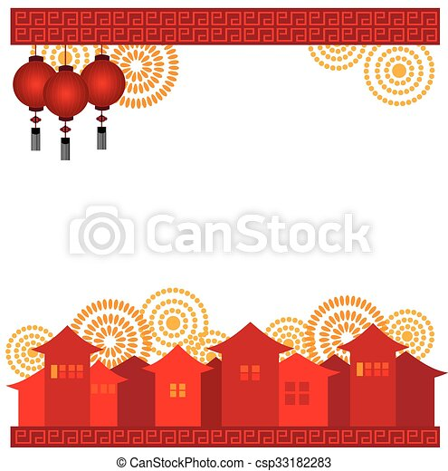Chinese new year greeting card chinese new year greeting card csp33182283 m4hsunfo