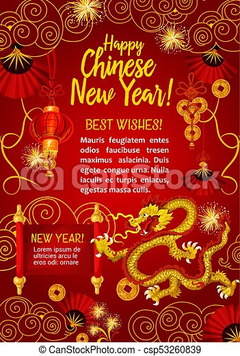 Chinese new year greeting card etamemibawa chinese new year greeting card chinese new year greeting card with golden dragon happy vectors chinese new year greeting card m4hsunfo Choice Image
