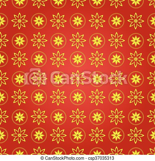 chinese new year vector seamless pattern
