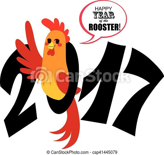 chinese rooster new year cute chinese zodiac sign rooster rh canstockphoto com