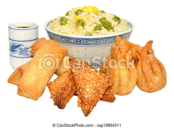 Chinese Snack Selection