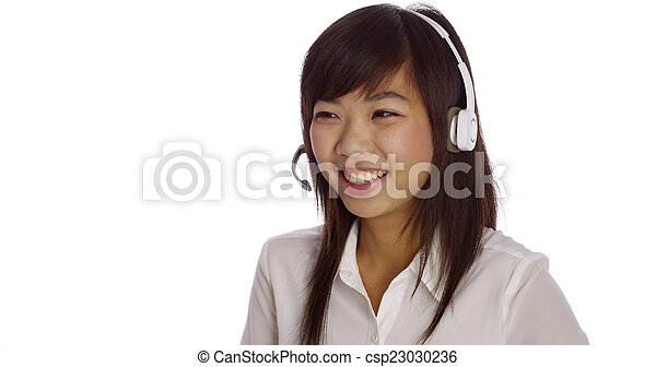 Chinese telemarketer - csp23030236
