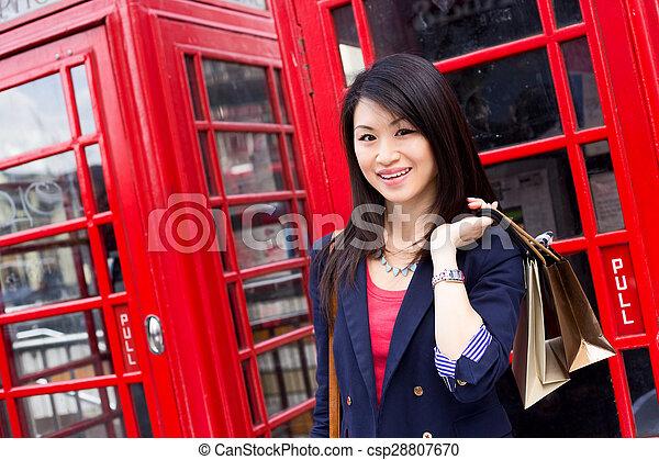 chinese tourist - csp28807670