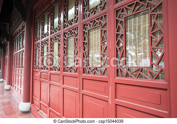 chinese traditional window and door - csp15044039 & Chinese traditional window and door . Ancient window and door ...