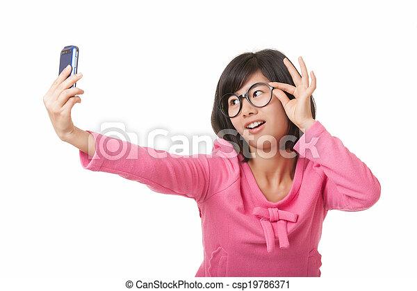 Chinese Woman - csp19786371