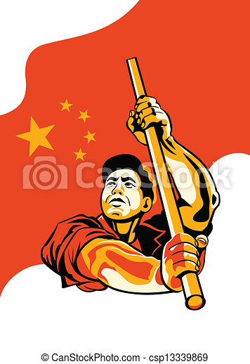 Chinese worker - csp13339869