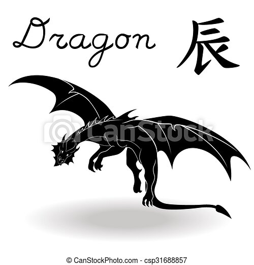 Chinese Zodiac Sign Dragon Fixed Element Earth Symbol Of