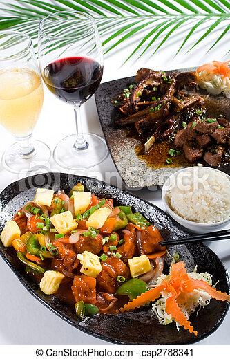 chino de comida - csp2788341