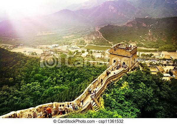 Gran muro chino - csp11361532