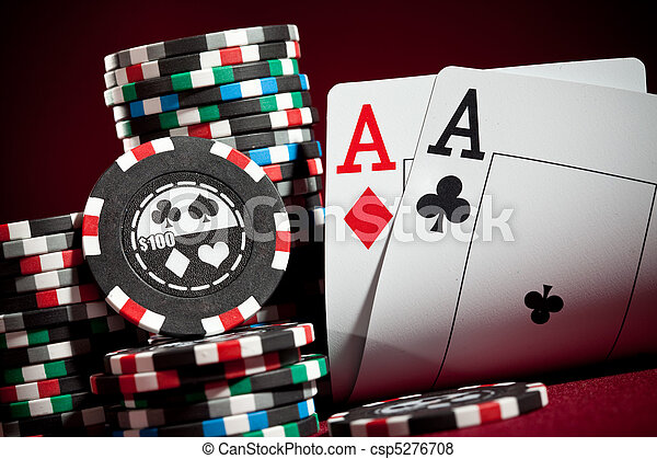 chips and two aces - csp5276708
