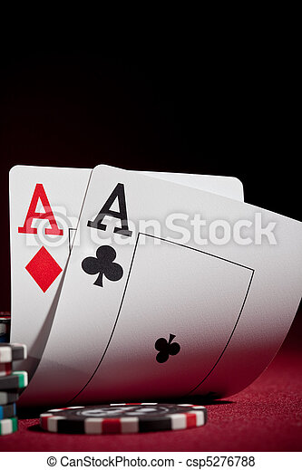 chips and two aces - csp5276788