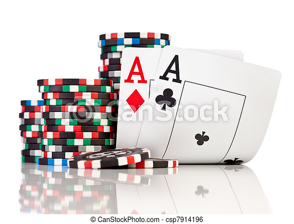 chips and two aces - csp7914196
