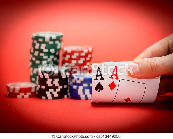 chips and two aces - csp13449258