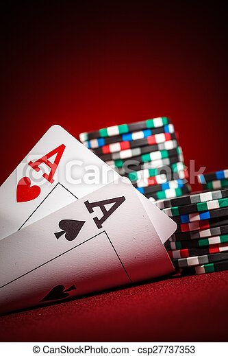 chips and two aces - csp27737353