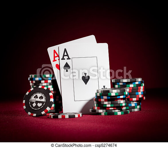 chips and two aces - csp5274674