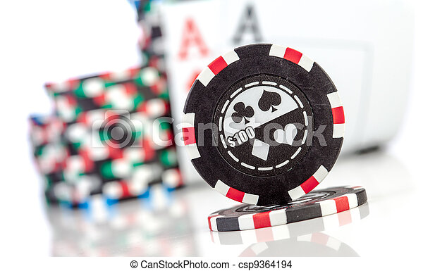 chips and two aces - csp9364194