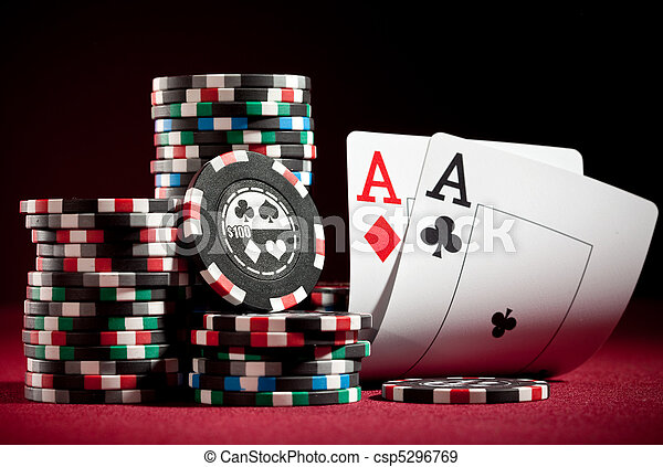 chips and two aces - csp5296769
