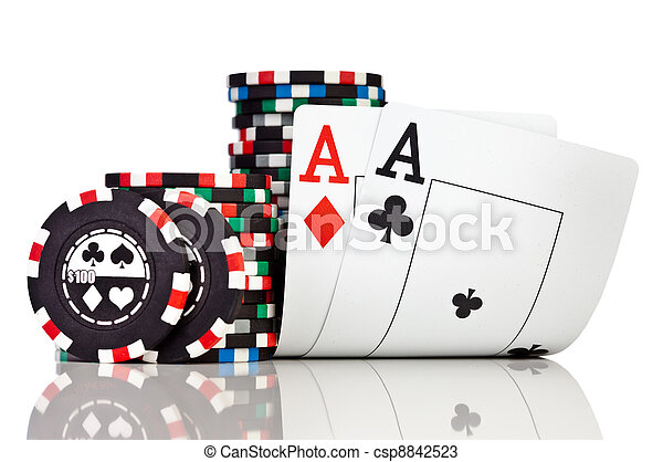 chips and two aces - csp8842523