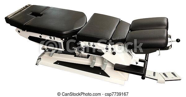 chiropractic, ベンチ - csp7739167